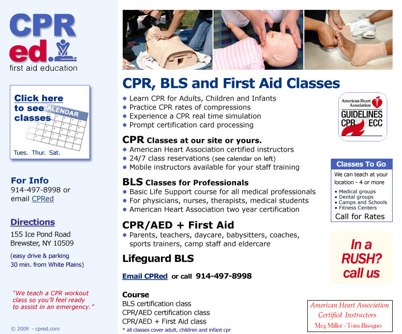 Yonkers Cpr Aed Bls Instructor